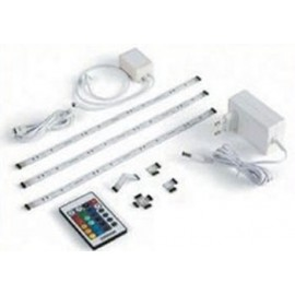 LED FLEXIBLE EN TIRAS CON MANDO EXTENSIBLE PACK 3 TIRAS