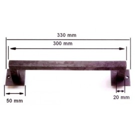MANILLON PLACA PLETINA TA16 330MM FRAGUA