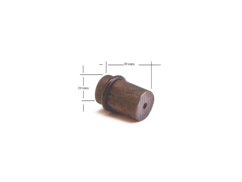 TOPE CILINDRO TOPE2 30X20MM FRAGUA
